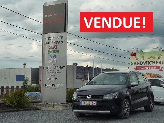 VW POLO CROSS 5P. – 1.6TDI 90CV – 2010 – 7300€
