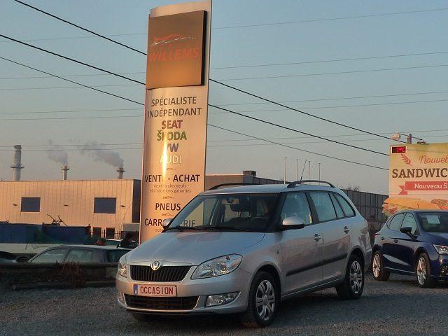 SKODA FABIA COMBI  1.6TDI 90CV 2011 – 6900€