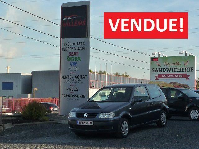 VW POLO TRENDLINE 3P. – 1.4MPI 60CV – 2001 – 2750€