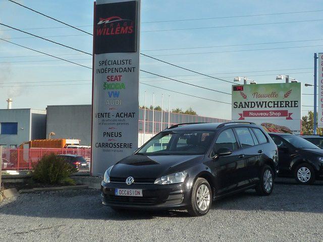VW GOLF VARIANT TREND 1.6TDI 105CV-2015-13500€