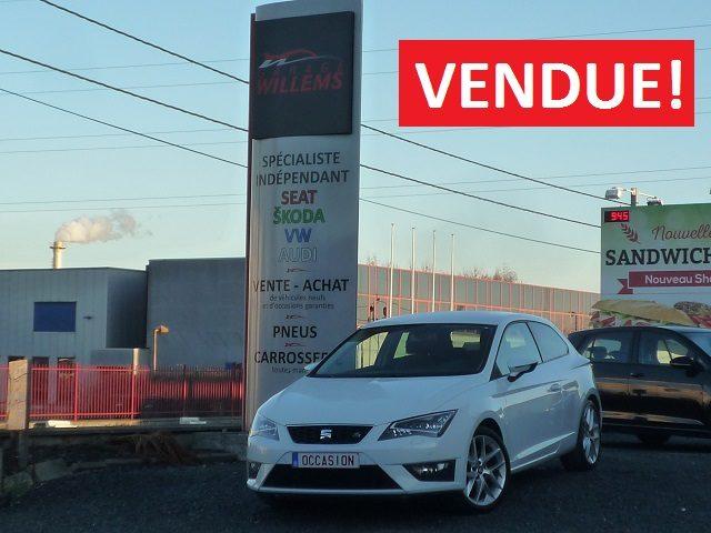SEAT LEON SC FR 2.0TDI 150CV – 2014 – 11999€