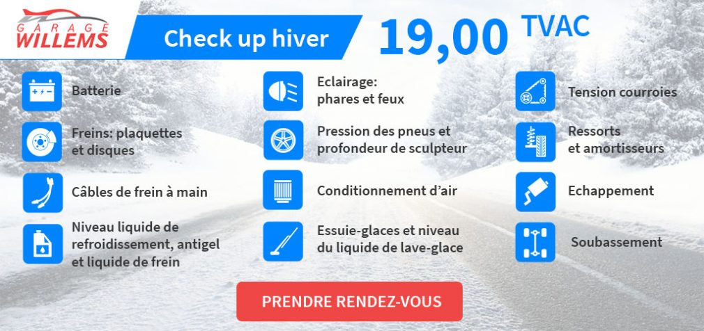 CHECK-UP D'HIVER