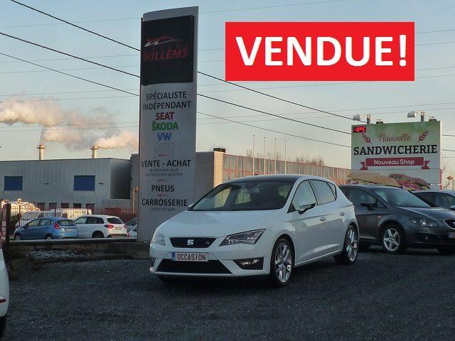 SEAT LEON 5P FR 2.0TDI 150CV – 2013 – 9900€
